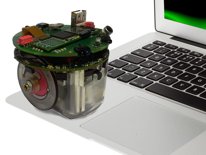 Epuck robot and your laptop