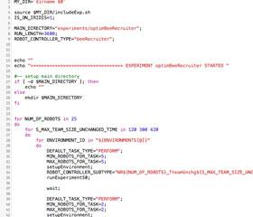 A bash script example