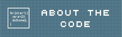 ABOUT THE CODE