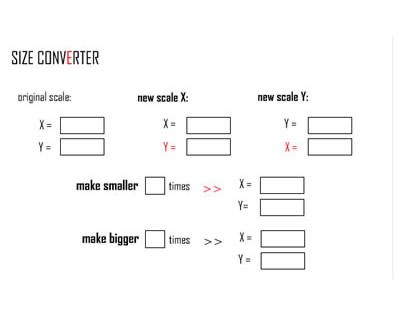 Size Converter Widget