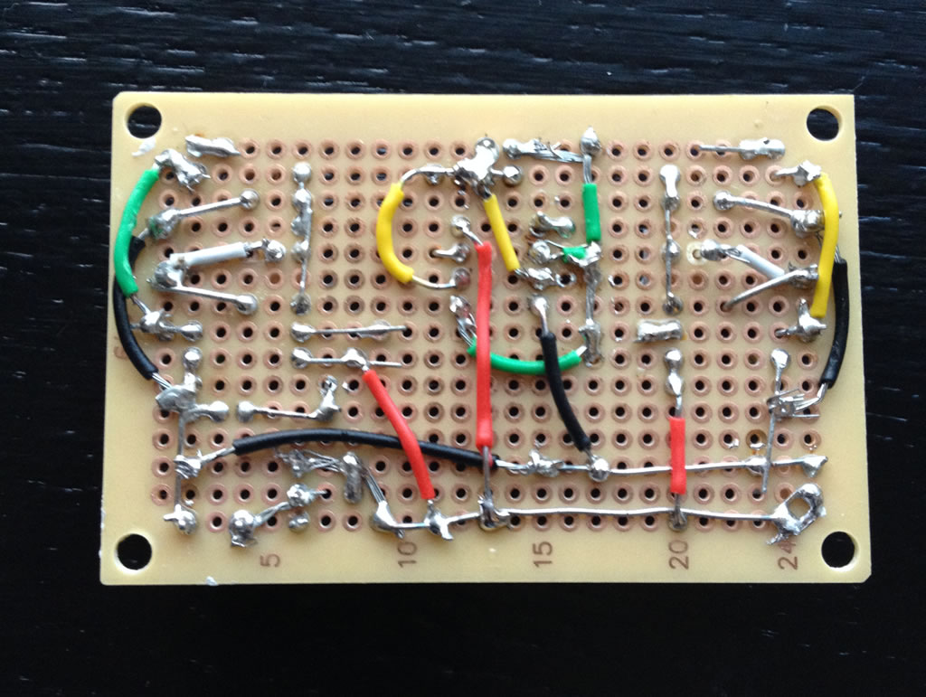Control board bottom