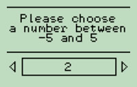 Number picker