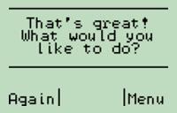 Question dialog